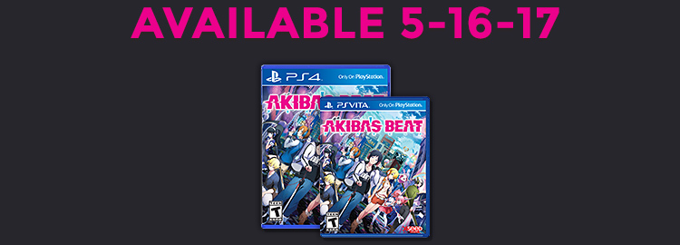 Order Akiba's Beat for PS4 or PS VITA